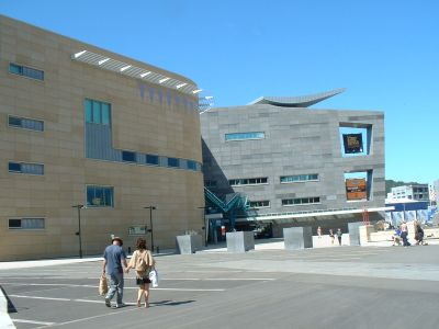 Nationalmuseum Te Papa in Wellington