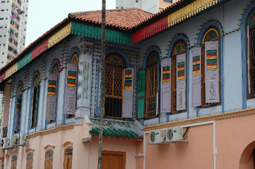 traditionelles Haus in Little India